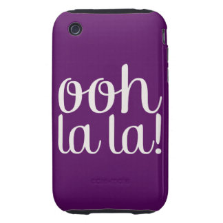 Ooh La La Purple iPhone 3 Tough Cases