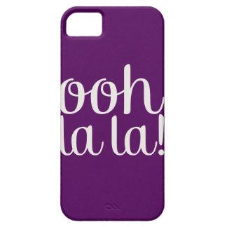Ooh La La Purple iPhone SE/5/5s Case