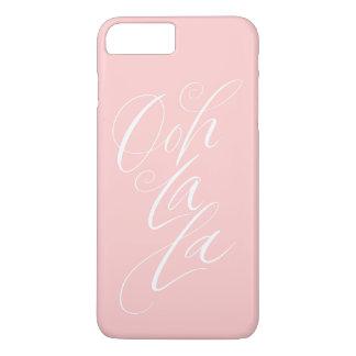 Ooh La La - Sensuous Feminine Lettering Pale Pink iPhone 8 Plus/7 Plus Case