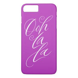Ooh La La - Sensuous Lettering Hot Magenta iPhone 8 Plus/7 Plus Case