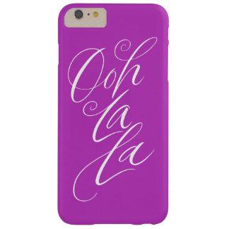 Ooh La La - Sensuous Lettering Sexy Magenta Barely There iPhone 6 Plus Case