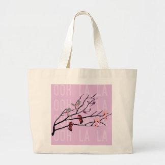 Ooh La La Shoes Branch Large Tote Bag
