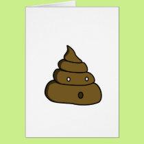 ooh poop card