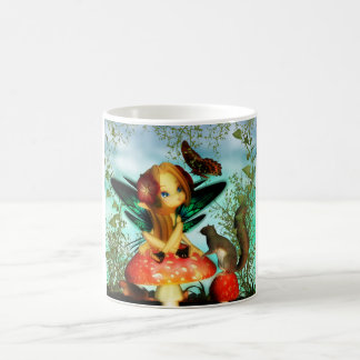 Ooh Pretty Butterfly, Fantasy Fairy Mug, Cute Mug
