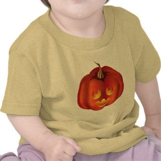 ¡Ooh tan asustadizo Jack-O-Linterna Halloween Camisetas