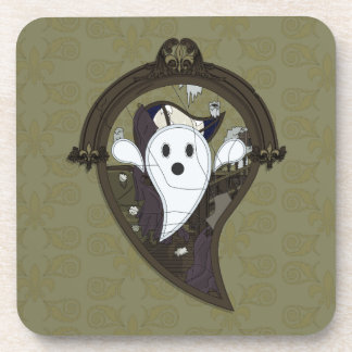 Ooh teh Ghost Square Coaster