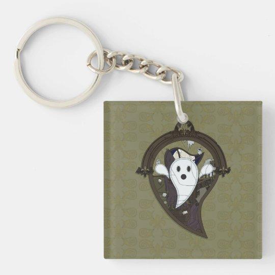 Ooh the Ghost Acrylic Keychain