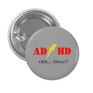 Oohhh de AD/HD brillante Pins