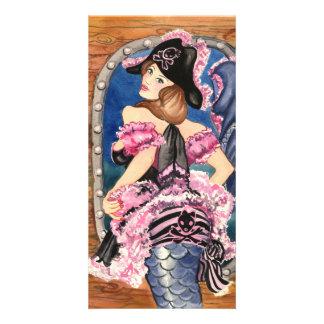 Oohlala Mermaid Card