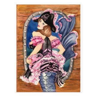 Oohlala Mermaid Postcard
