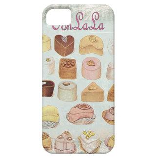 Oohlala temptation Vintage Chocolate Paris Fashion iPhone SE/5/5s Case
