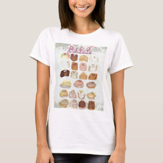 Oohlala temptation Vintage Chocolate Paris Fashion T-Shirt