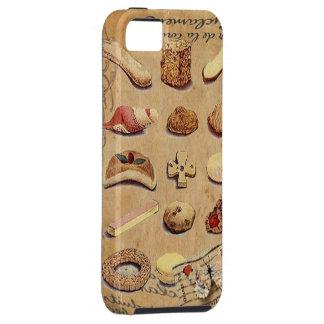 Oohlala temptation Vintage Cookies Paris Fashion iPhone SE/5/5s Case