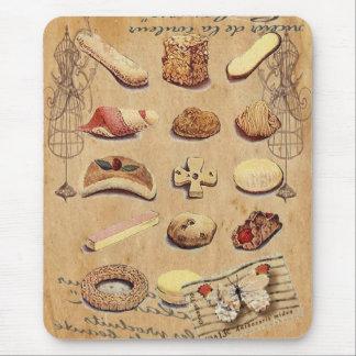 Oohlala temptation Vintage Cookies Paris Fashion Mouse Pad