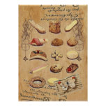 Oohlala temptation Vintage Cookies Paris Fashion Poster