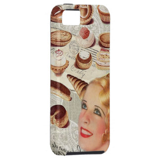 Oohlala temptation Vintage Paris Lady Fashion iPhone 5 Case