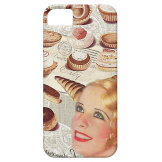 Oohlala temptation Vintage Paris Lady Fashion iPhone SE/5/5s Case