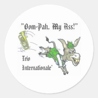 Oom-Pah Sticker