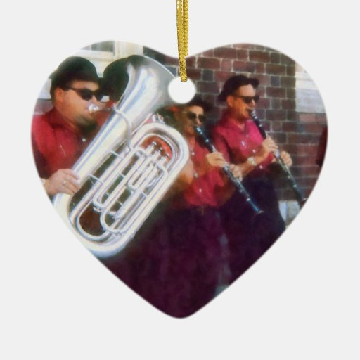 Oompah Band Christmas Tree Ornaments