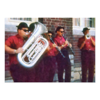 Oompah Band Personalized Invitation