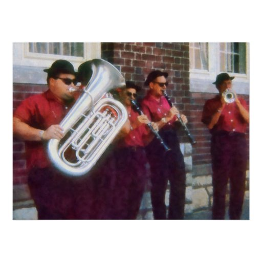 Oompah Band Print