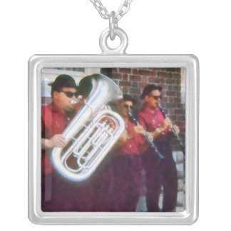Oompah Band Silver Plated Necklace