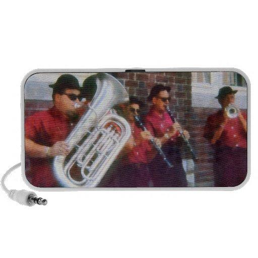 Oompah Band Travelling Speakers