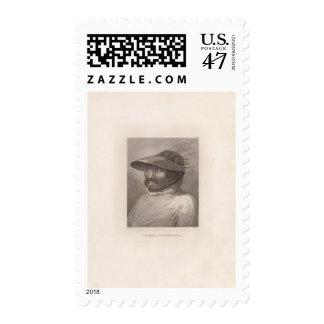 Oonalashka man, Alaska Postage