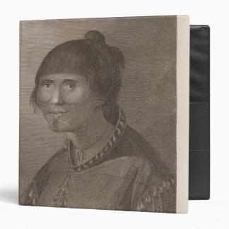 Oonalashka woman, Alaska Binder