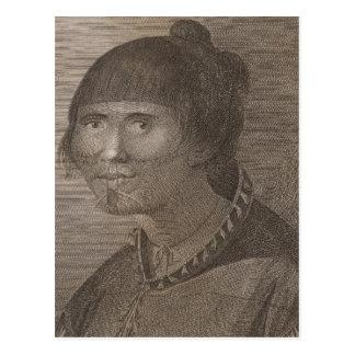 Oonalashka woman, Alaska Postcard
