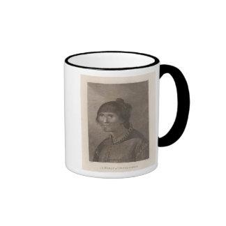 Oonalashka woman, Alaska Ringer Mug
