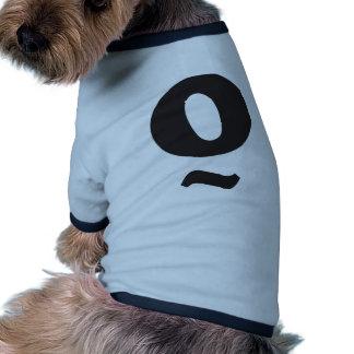 OongOong logo Pet Tshirt