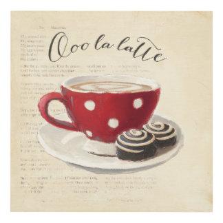 Ooo La Latte Panel Wall Art