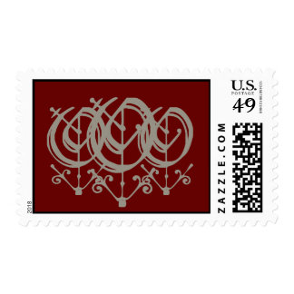 oOo Postage Stamp