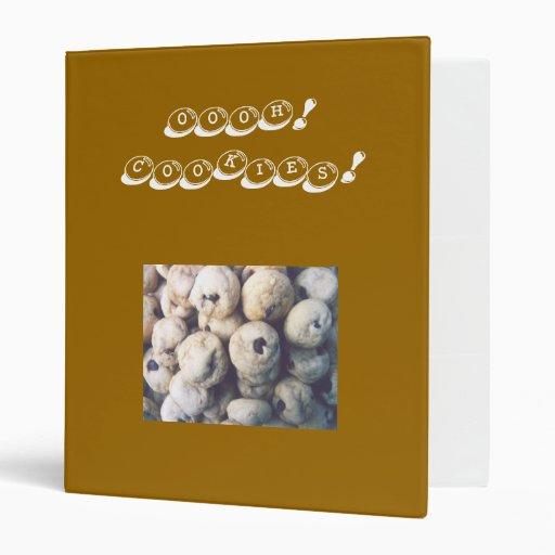 oooh! cookies! binder