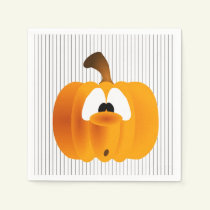 Oooh Spooky! Halloween Party Paper Napkins