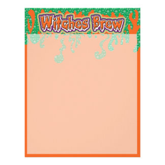 Oooh Witches Brew Letterhead
