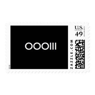 OOOIII Postage Stamp