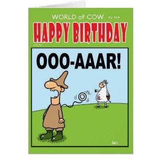 OOOO-ARR! GREETING CARD