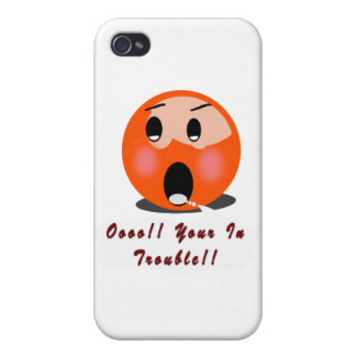 Oooo!! Your In Trouble!! iPhone 4/4S Cover
