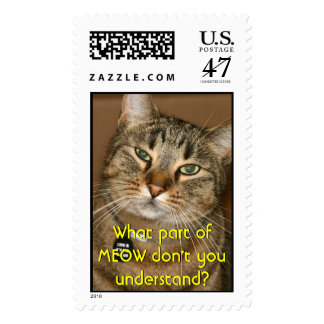 Ooooh! I see you! Stitch the Cat. Postage