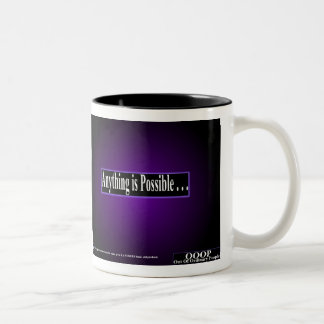 OOOP Anything is Possible 2-tone Mug