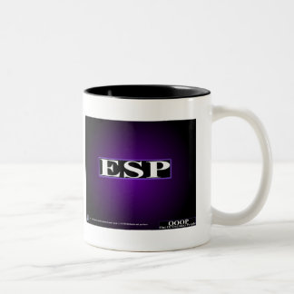 OOOP ESP Two-Tone COFFEE MUG