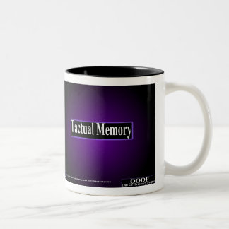 OOOP Tactual Memory Two-Tone Coffee Mug