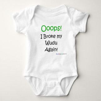Ooops! I Broke my Wudu Again! Baby Bodysuit