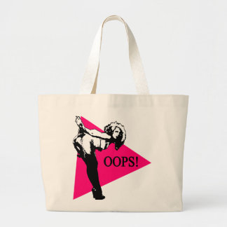 Oops Babe Large Tote Bag