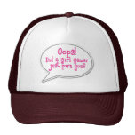 Oops! Did a Girl Gamer Just Pwn You? Cap Trucker Hat