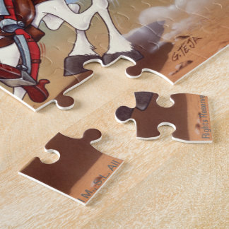 Oops Don Quixote Jigsaw Cartoon Jigsaw Puzzle