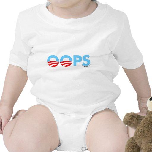 Oops error de Obama Trajes De Bebé