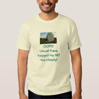 OOPS!  Fallen Wind Turbine T Shirt